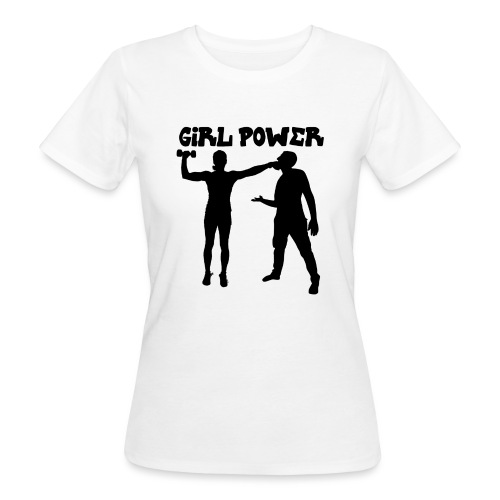 GIRL POWER hits - Camiseta ecológica mujer