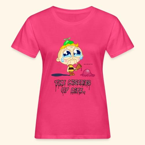 The Miseries of Life Eiscreme Eis Kind - Frauen Bio-T-Shirt