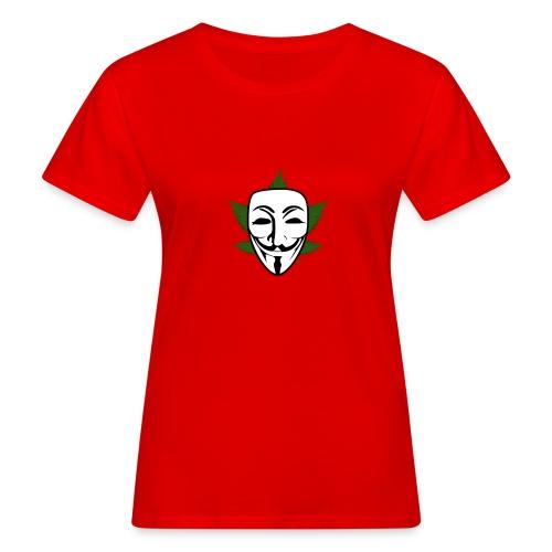 Anonymous - Vrouwen Bio-T-shirt