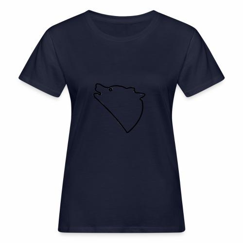 Wolf baul logo - Vrouwen Bio-T-shirt