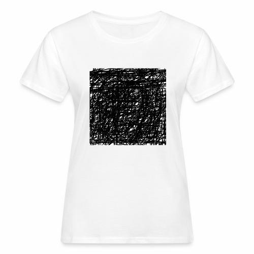 Kritzel-Design - Frauen Bio-T-Shirt