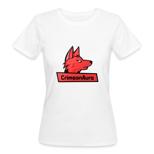 CrimsonAura Logo Merchandise - Women's Organic T-Shirt