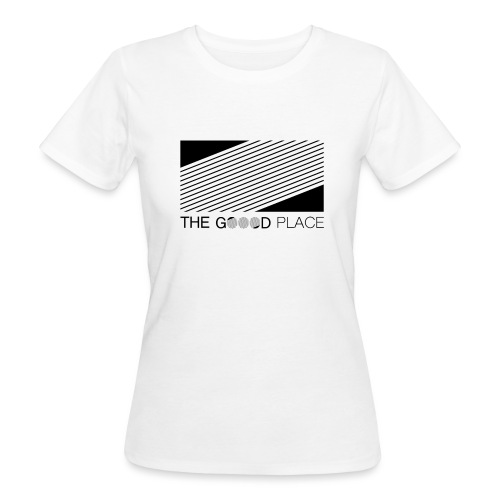 THE GOOOD PLACE LOGO - Vrouwen Bio-T-shirt