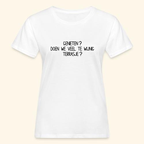 TERRASJE 1 LAAG - Women's Organic T-Shirt