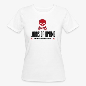 Lords of Uptime black - Frauen Bio-T-Shirt