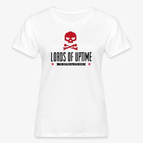 Lords of Uptime black - Frauen Bio-T-Shirt