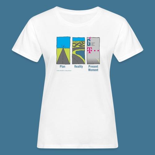Wege telekom - Frauen Bio-T-Shirt
