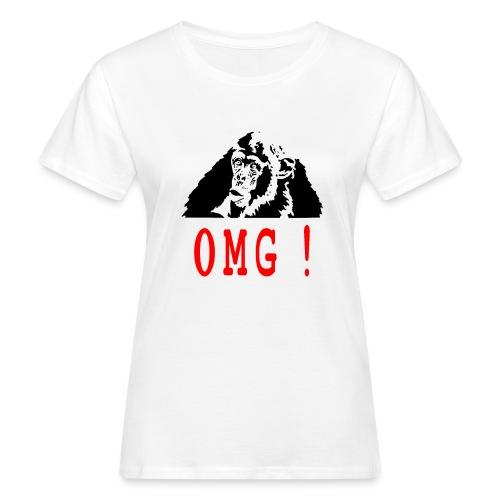OMG monkey - T-shirt bio Femme