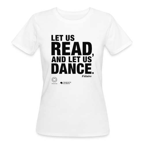 LET US READ | Bookish Merch - Frauen Bio-T-Shirt