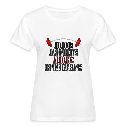 Para el Espejo: GYM - DOLOR TEMPORAL - Camiseta ecológica mujer