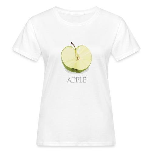 Pomme tranchée - T-shirt bio Femme