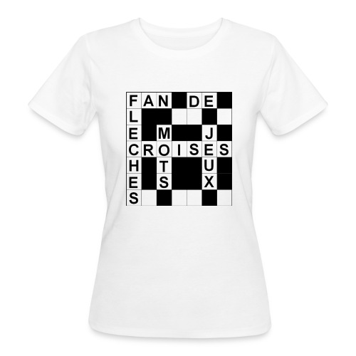 Fan de mots croisés - T-shirt bio Femme