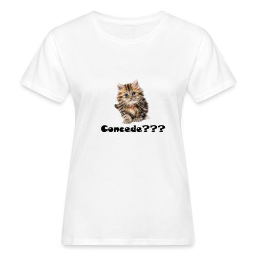 Concede kitty - Økologisk T-skjorte for kvinner
