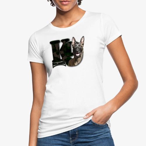 malinois k-9 - T-shirt bio Femme