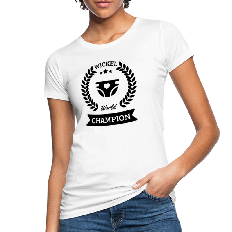 Baby Wickel World Champion - Frauen Bio-T-Shirt