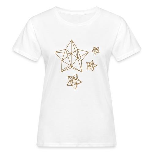 Sternenhimmel Diamant - Frauen Bio-T-Shirt