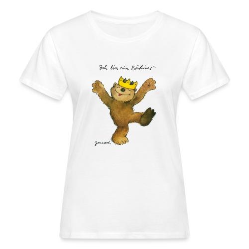 Janosch Kleiner Bär Ich Bin Ein Bärliner - Frauen Bio-T-Shirt