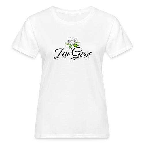 Zen Girl -Lotus Blomma - Prima Vera Design - Ekologisk T-shirt dam