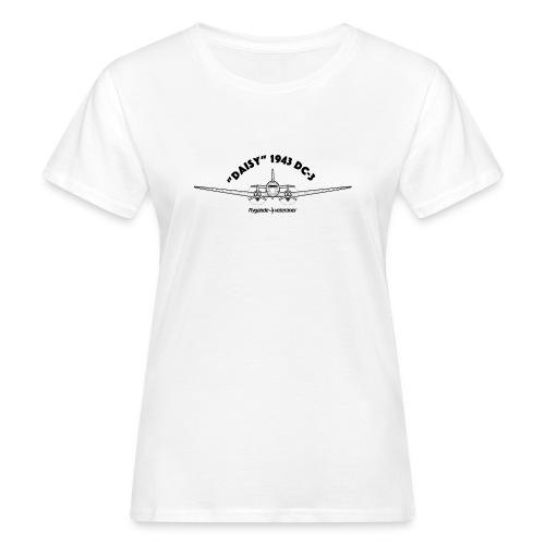 Daisy Blueprint Front 1 - Ekologisk T-shirt dam