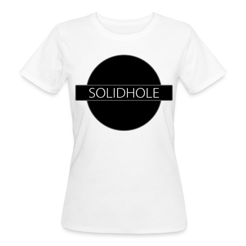 The Solid Hole logotype - Women's Organic T-Shirt