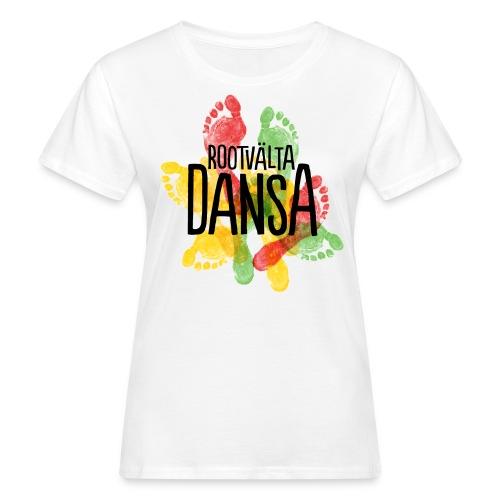 Rootvälta DANSA - Ekologisk T-shirt dam