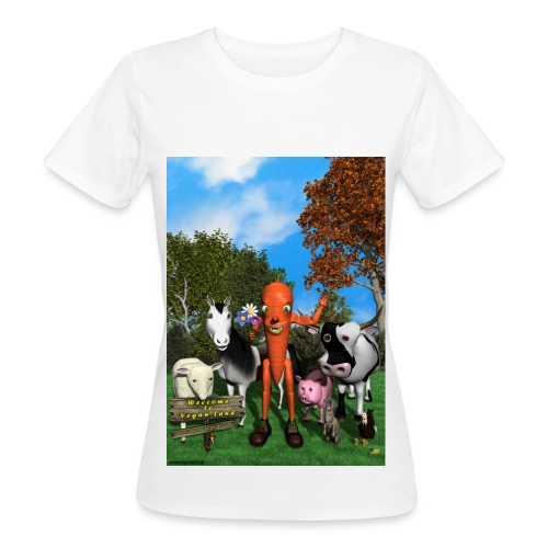 Welcome to Vegan Land - T-shirt bio Femme