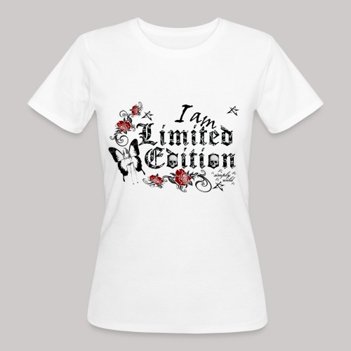 simply wild limited Edition on white - Frauen Bio-T-Shirt