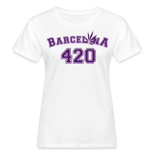 Barcelonaleaf 420 - Women's Organic T-Shirt
