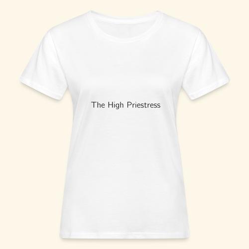 The Minimalist Tarot -The Major Arcana Series - Vrouwen Bio-T-shirt