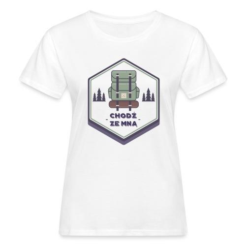 Górska wycieczka - Ekologiczna koszulka damska