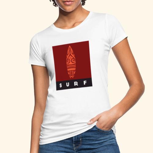 Surfing del Mundo by Te-Moana - Frauen Bio-T-Shirt