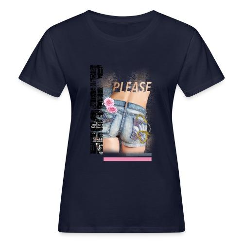 backgirl - T-shirt ecologica da donna