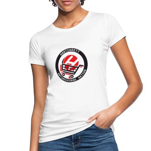 Hartzarett Antifa - Frauen Bio-T-Shirt