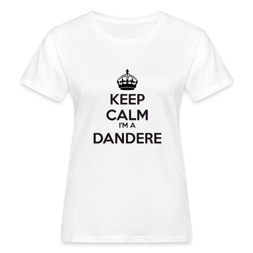 Dandere keep calm - Women's Organic T-Shirt