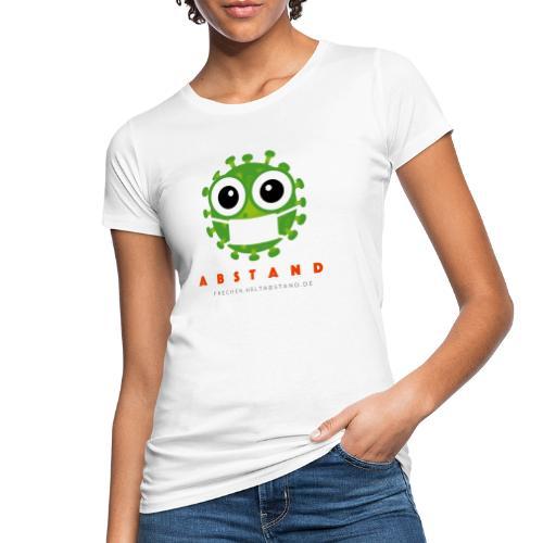 Frechen hält ABSTAND - Hell - Frauen Bio-T-Shirt