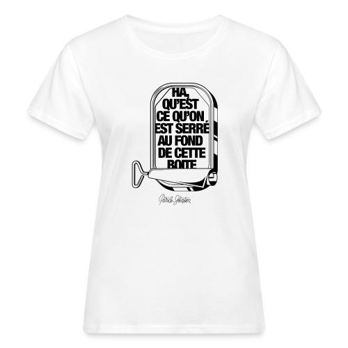 Les Sardines - T-shirt bio Femme