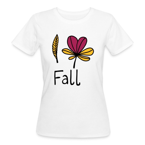 Fall in love - Frauen Bio-T-Shirt