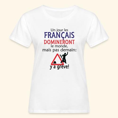 domination française - T-shirt bio Femme