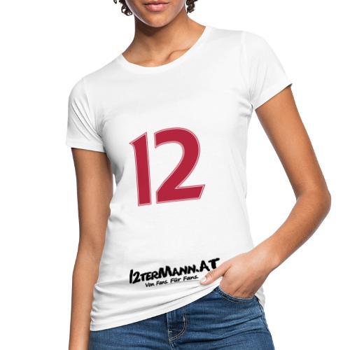 12termann mitfans - Frauen Bio-T-Shirt