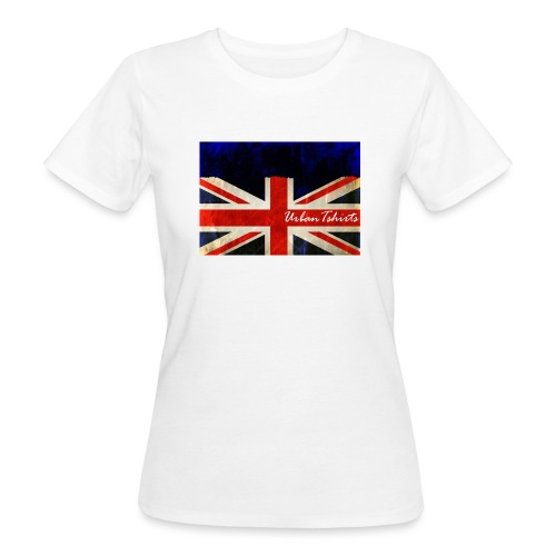 Brittish Flag - Ekologisk T-shirt dam