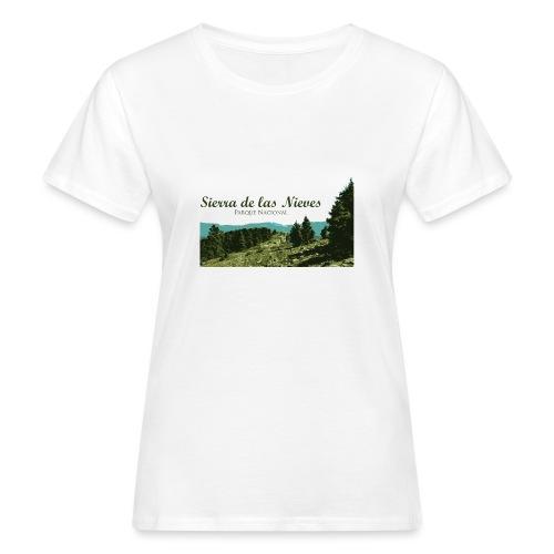 Sierra de las Nieves Parque Nacional - Camiseta ecológica mujer