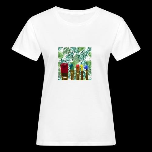 couleurs chauds des tropiques - T-shirt bio Femme