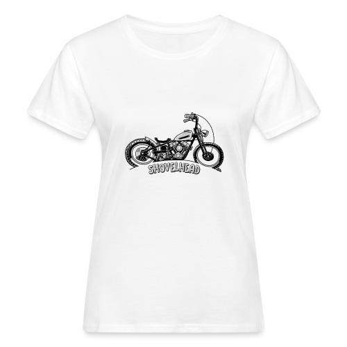 0917 chopper shovelhead - Vrouwen Bio-T-shirt