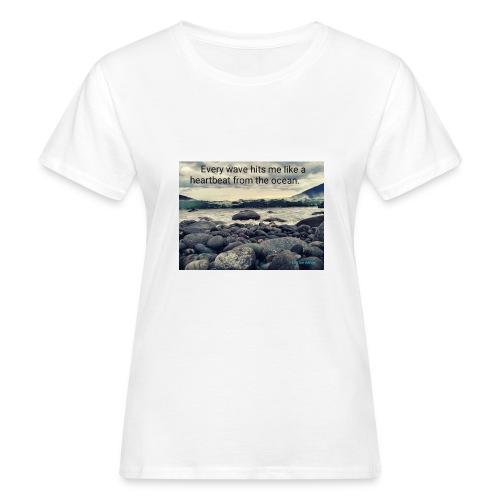 Oceanheart - Økologisk T-skjorte for kvinner
