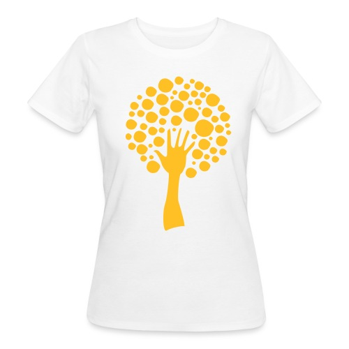 Logo-orange - Vrouwen Bio-T-shirt