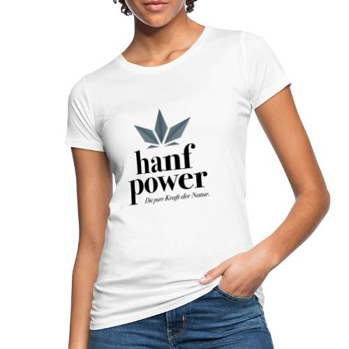 Hanf Power Logo - Frauen Bio-T-Shirt