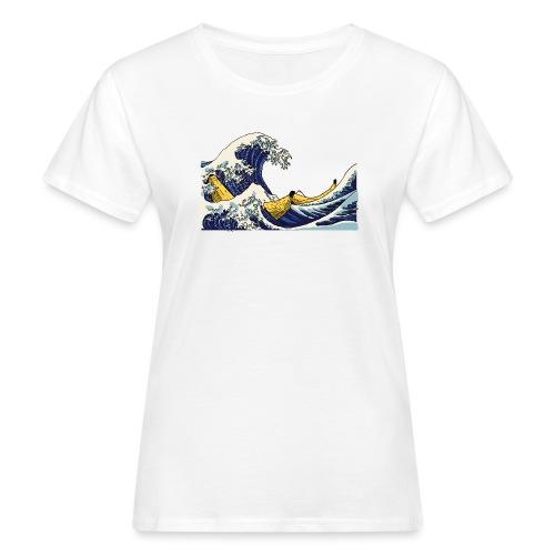 De golf van Banana - Vrouwen Bio-T-shirt