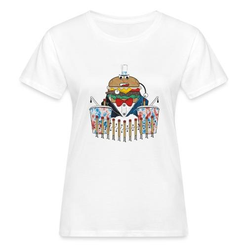 Hamburger army - Naisten luonnonmukainen t-paita