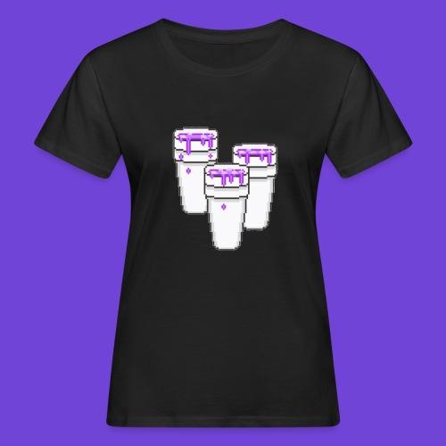 Purple - T-shirt ecologica da donna