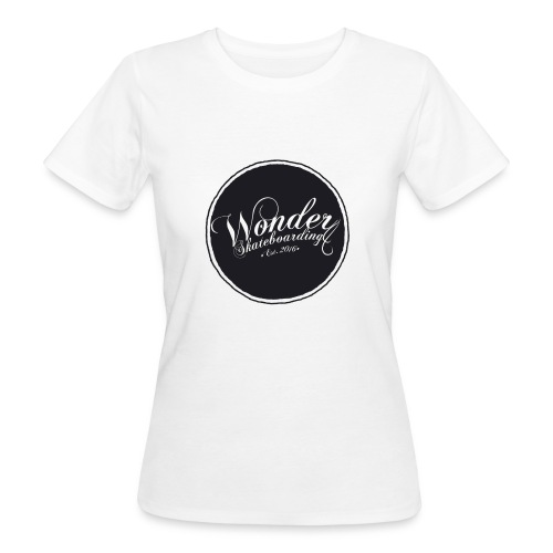 Wonder T-shirt - oldschool logo - Organic damer